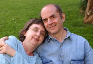 Harvey Pekar and Joyce Brabner at event of American Splendor (2003)