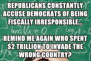 GOP twisted thinking