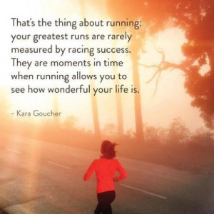 New favorite running quote and my FIRST baby shower.