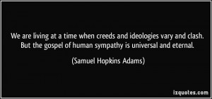 Samuel Hopkins Adams Quote