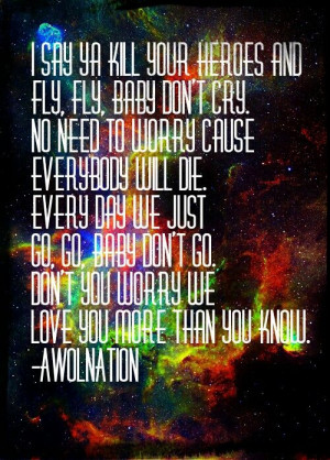 my favorite song by awolnation :)