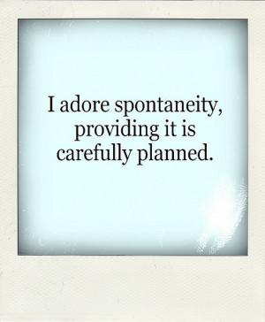 planning funny