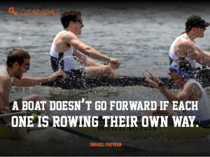 Rowing Quotes Is rowing their own way
