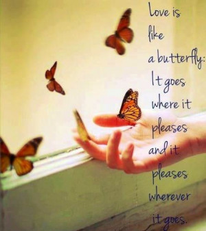 Butterfly quote via Carol's Country Sunshine on Facebook