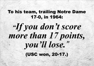 VICTORY AGAINST NOTRE DAME