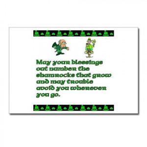 Funny Irish Sayings Short