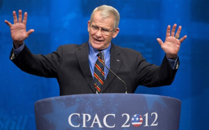 Oliver North Got Busted for Using an Email Forward in His Column