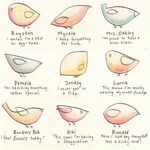 Bird Sayings