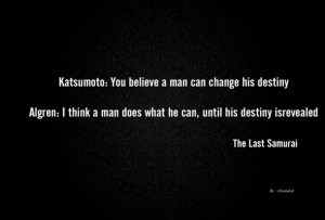 Wallpaper the last samurai, quote, simple, text