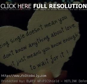 quotes about being single inspirational quotes about being single ...