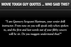 Galleries: Movie tough guy quotes quiz