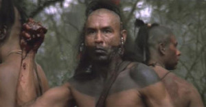 Wes Studi as Magua in The Last of the Mohicans (Michael Mann, 1992 ...