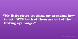 26 Astounding Little Sister Quotes