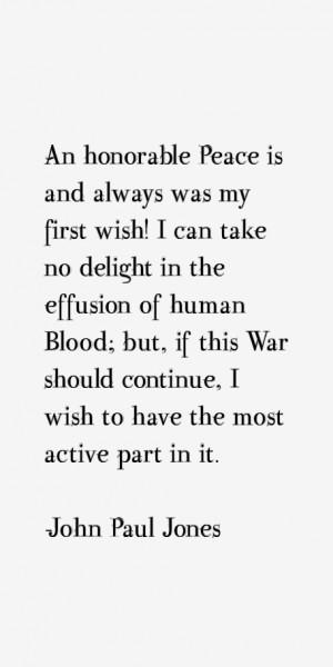 John Paul Jones Quotes & Sayings