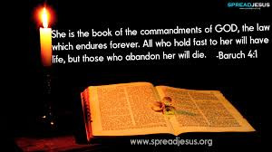 ... Her Will Have Life, But Those Who Abandon Her Will Die. ~ Bible Quote