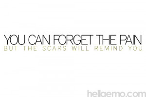 Scars Quotes Anon scars