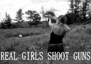 Real Girls Shoot Guns #SecondAmendment