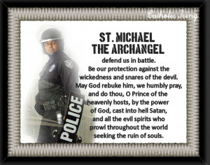 St. Michael patron saint of police officers