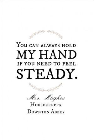 Downton Abbey Quote Printables Free