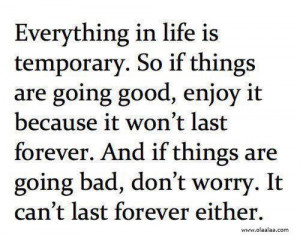 Nice life quotes thoughts bad worry great best