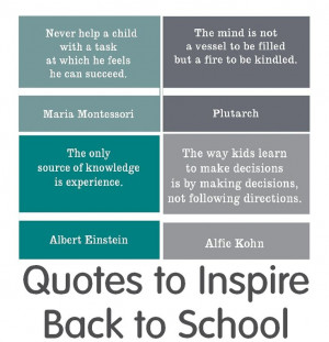 School Quotes Back to school quotes