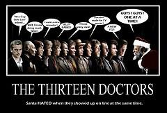 and The Santa (DarkJediKnight) Tags: santa christmas poster who dr ...