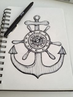 Anchor Drawings With Quotes Anchor sketch, quote
