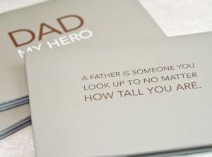 Dad My Hero quote