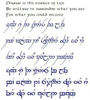 Beautiful Quote, Feet Tattoos, Hobbit Tattoo, The Hobbit, Elvish ...