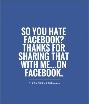 ... ? Thanks for sharing that with me...on Facebook Picture Quote #1