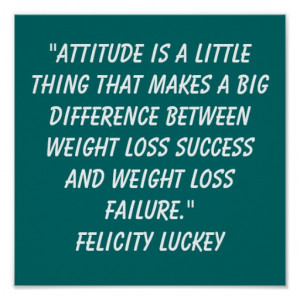 Weight Loss Quotes Print