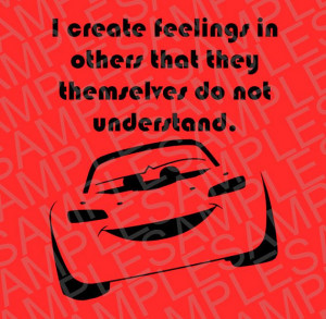 Disney Inspired Lightning McQueen with Quote SVG, DXF, and JPEG ...