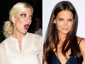 Tori Spelling has some harsh words for Katie Holmes, courtesy of her ...