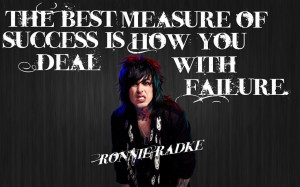 Ronnie Radke Quote by MotionlessRainbows