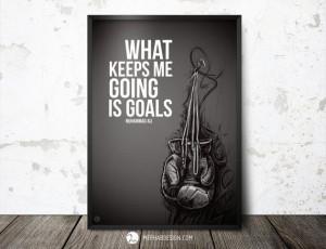 ... MerhabDesign, $6.00 #quotes #boxing #muhammad #ali #quote #motivation