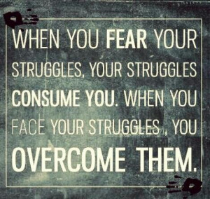God give me the strength to overcome