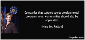 mary lou retton quotes as a kid i was a pretty good little sprinter ...