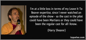 More Harry Shearer Quotes