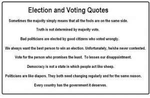 Voting quotes