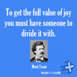 With Mark Twain More Great