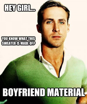 Hey Girl, Here's Some Ryan Gosling Memes For You