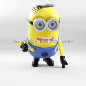 Christmas Gift Mini Speaker with Despicable Me 2 minion speaker