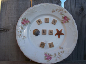 ... Pieces Mimic Quote Say La Vie for Sea La ME - product images of