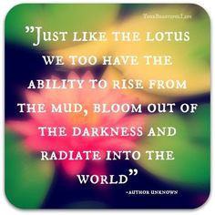 The Buddhist meaning is basically (short version) that the lotus ...
