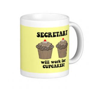 funny secretary mugs