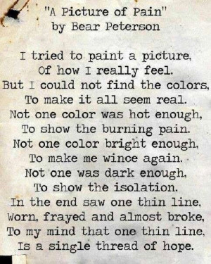 pain images and quotes | Hope | Chronic pain Quotes