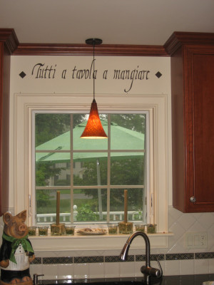 Italian Kitchen Quotes - Italian Kitchen sayings and Wall Decors