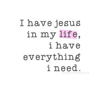 ... : Jesus Is My Hero , Jesus Saved My Life , Jesus Changed My Life