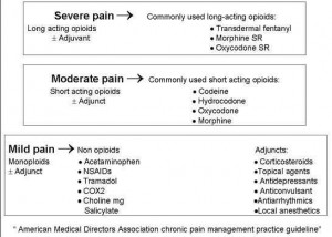 Pain Medication Chart By Strength Of The Pain