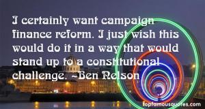 Campaign Finance Reform Quotes